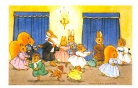 dan005063 - Dressed Animals Post Card