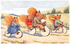 dan005072 - Dressed Animals Post Card