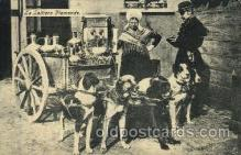 dct001008 - La Laitiere Flamande Dog Pulling Cart Postcard Post Card