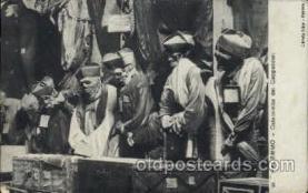 dea001017 - Palermo - Catacombe dei Cappuccini Skulls Postcard Post Card