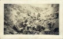 Trench near Rhenus France 1917-1918