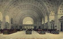 dep001084 - Union Station, Washington DC, USA Train Railroad Station Depot Post Card Post Card