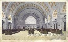 dep001087 - Union Station, Washington DC, USA Train Railroad Station Depot Post Card Post Card