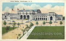 dep001105 - Union Station, Washington DC, USA Train Railroad Station Depot Post Card Post Card
