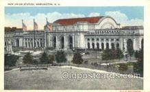 dep001106 - New Union Station, Washington, DC USA Train Railroad Station Depot Post Card Post Card