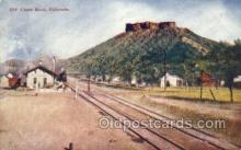 dep001107 - Castle Rock, CO USA Train Railroad Station Depot Post Card Post Card