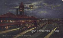 dep001113 - Union Depot, Denver, CO USA Train Railroad Station Depot Post Card Post Card