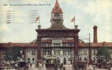 dep001122 - Union Depot, Denver, CO USA Train Railroad Station Depot Post Card Post Card