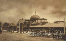 dep001132 - La Grand Station, Los Angeles, CA USA Train Railroad Station Depot Post Card Post Card