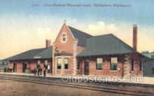 dep001235 - Great northern Passenger Depot, Bellingham, WA, Washington, USA Train Railroad Station Depot Post Card Post Card
