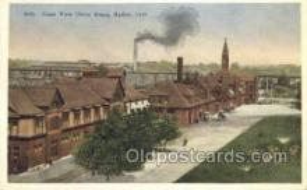 dep001258 - Union Depot, Ogden, UT, Utah, USA Train Railroad Station Depot Post Card Post Card