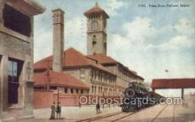 dep001270 - Union Depot, Portland, OR, Oregon, USA Train Railroad Station Depot Post Card Post Card