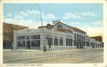 dep001286 - Southern Pacific Depot, Reno, NV, Nevada, USA Train Railroad Station Depot Post Card Post Card