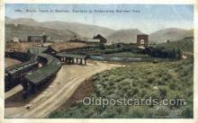 dep001291 - Rustic Depot, Yellow Stone National Park, USA Train Railroad Station Depot Post Card Post Card