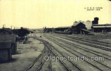 dep001312 - UPRR Yards, Sidney, NE USA Train Railroad Station Depot Post Card Post Card
