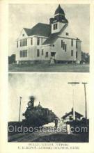 dep001336 - Up Depot, Delphos, KS, Kansas, USA Train Railroad Station Depot Post Card Post Card