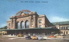 dep001347 - Union Station, Denver, CO, Colorado, USA Train Railroad Station Depot Post Card Post Card