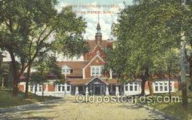 dep001355 - Union Station, Cedar Rapids, IA, Iowa, USA Train Railroad Station Depot Post Card Post Card