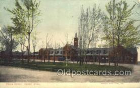 dep001360 - Union Depot, Ogden, UT, Utah, USA Train Railroad Station Depot Post Card Post Card