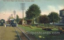 Lake Shore Depot, Hillsdale, MI, USA