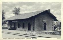 dep001521 - Smiths Creek Depot, Greenfield, Dearborn, MI , Michigan, USA Train Railroad Station Depot Post Card Post Card