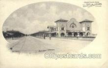 dep001563 - Sunset Depot, San Antonio, TX, Texas, SUA Train Railroad Station Depot Post Card Post Card