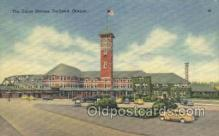 dep001575 - Union Station, Portland, Or, Oregon, USA Train Railroad Station Depot Post Card Post Card