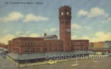 dep001580 - Dearborn Street Station, Chicago, IL, Illinois, USA Train Railroad Station Depot Post Card Post Card