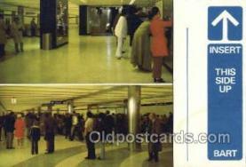 dep001632 - Barts Modern Station, San Francisco, CA, California, USA Train Railroad Station Depot Post Card Post Card
