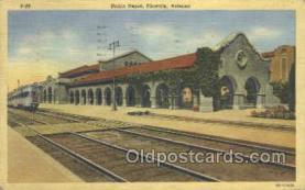 dep001662 - Union Depot, Phoenix, Az, Arizona, USA Train Railroad Station Depot Post Card Post Card