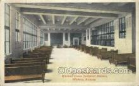 dep001678 - Union Terminal Station, Wichita, KS ,Kansas, USA Train Railroad Station Depot Post Card Post Card