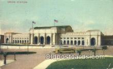dep001855 - Union Station, Washington DC, District of Columbia, USA Depot Postcard, Railroad Post Card