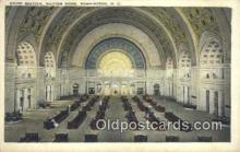 dep001860 - Union Station, Washington DC, District of Columbia, USA Depot Postcard, Railroad Post Card