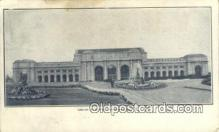 dep001864 - Union Station, Washington DC, District of Columbia, USA Depot Postcard, Railroad Post Card