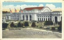 dep001868 - New Union Station, Washington DC, District of Columbia, USA Depot Postcard, Railroad Post Card
