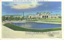 dep001871 - Union Station, Washington DC, District of Columbia, USA Depot Postcard, Railroad Post Card
