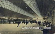 dep001877 - Union Station Concourse, Washington DC, District of Columbia, USA Depot Postcard, Railroad Post Card