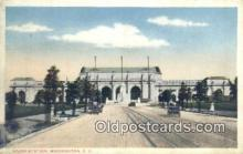 dep001881 - Union Station, Washington DC, District of Columbia, USA Depot Postcard, Railroad Post Card