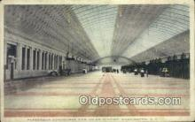 dep001885 - Passenger Concourse New Union Station, Washington DC, District of Columbia, USA Depot Postcard, Railroad Post Card