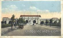 dep001889 - Union Station, Washington DC, District of Columbia, USA Depot Postcard, Railroad Post Card
