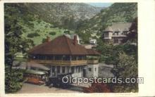 dep001914 - Iron Springs Station, Manitou, CO, Colorado, USA Depot Postcard, Railroad Post Card