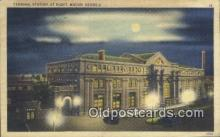 dep001923 - Terminal Station, Macon, GA, Georgia, USA Depot Postcard, Railroad Post Card