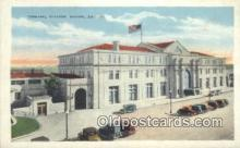 dep001924 - Terminal Station, Macon, GA, Georgia, USA Depot Postcard, Railroad Post Card