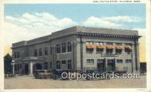 dep001964 - Burlington Depot, Alliance, NE, Nebraska, USA Depot Postcard, Railroad Post Card