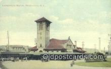 dep001972 - Lackawanna Station, Binghamton, NY, New York, USA Depot Postcard, Railroad Post Card