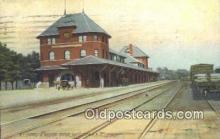 dep001984 - NY Ontario & Western Station, Middletown, NY, New York, USA Depot Postcard, Railroad Post Card