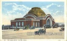 dep002013 - Union Depot, Tacoma, WA, Washington, USA Depot Postcard, Railroad Post Card