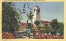 dep002047 - Union Pacific Depot, Boise, ID, Idaho, USA Depot Postcard, Railroad Post Card