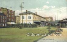 dep002052 - PRR Depot, Huntingdon, PA, Pennsylvania, USA Depot Postcard, Railroad Post Card
