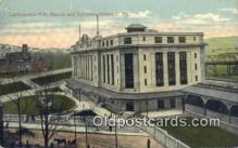 dep002056 - Lackawanna RR Station, Scranton, PA, Pennsylvania, USA Depot Postcard, Railroad Post Card